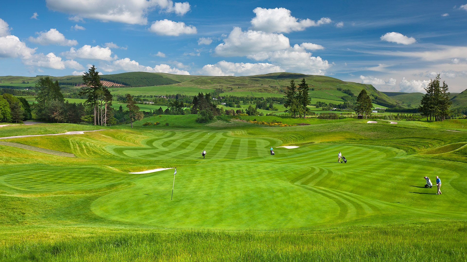 Gleneagles Golf Course 1
